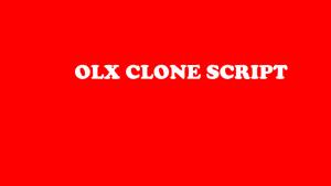 Olx Clone Script