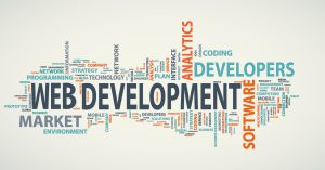 What are the different web development services