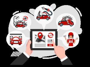 online car service booking app