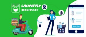 Dry cleaning and laundry delivery app development